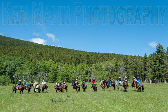 Rafter Six Trail Ride - 100th Calgary Stampede-126
